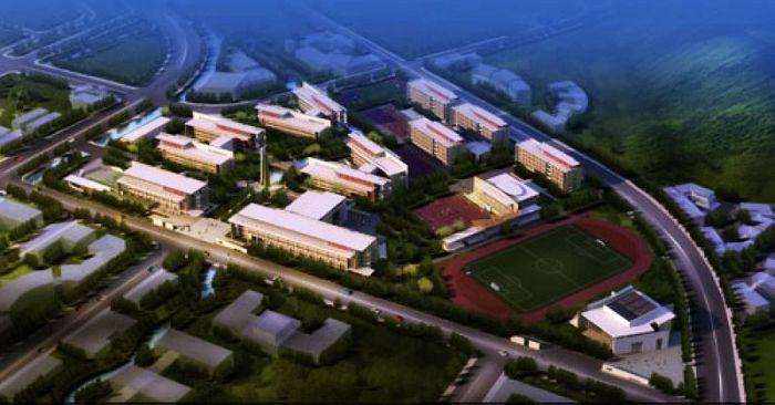 北川中学规划图首次发布