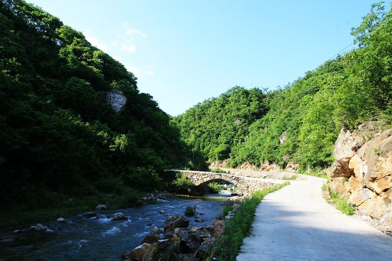 商南老地方_穿越蟒岭之一长江黄河的分界岭-老白影像-搜狐博客
