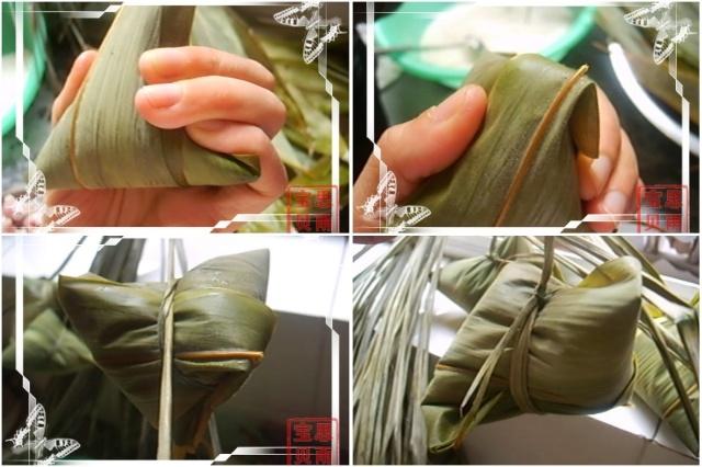 细的粽子制作过程