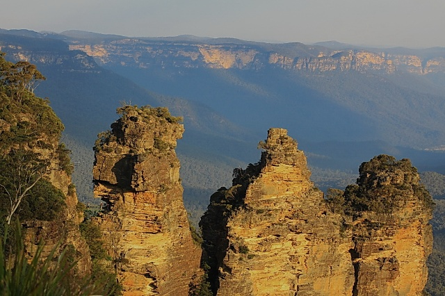 世界自然文化遗产--悉尼蓝山