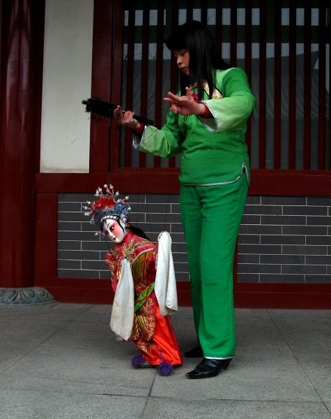 """民间文化瑰宝:陕西合阳""""提线木偶""""(附图)"""