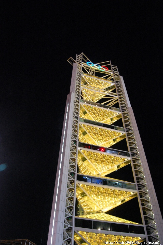 七彩玲珑塔 - 2008北京奥运会