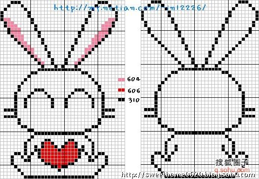 Простейшие вышивки крестом схемы для детей простые 31