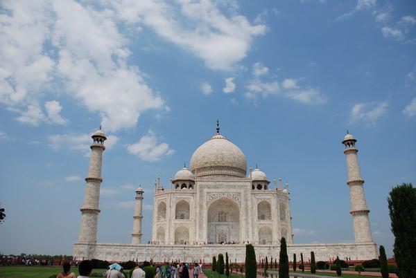 印度建筑王冠---泰姬陵