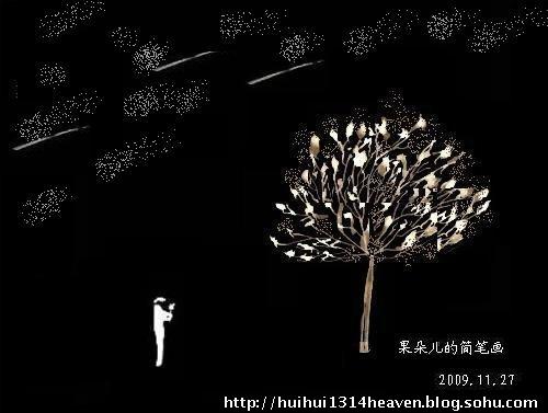 一棵树 简笔画内容图片展示
