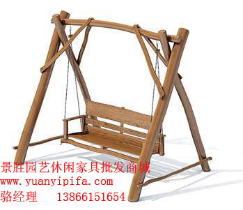 木秋千椅 - 景胜园林木作工艺厂的博客