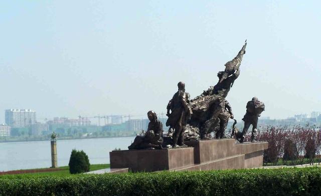 广场雕塑》广场雕塑手绘图》广场雕塑