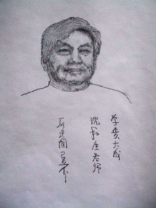 科学家肖像简笔画