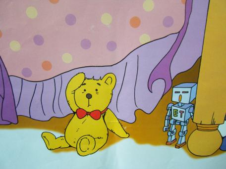 故事《小熊冒泡泡》