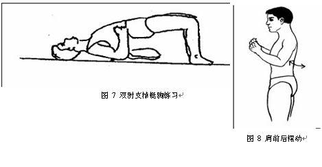 锁骨骨折术后康复锻炼