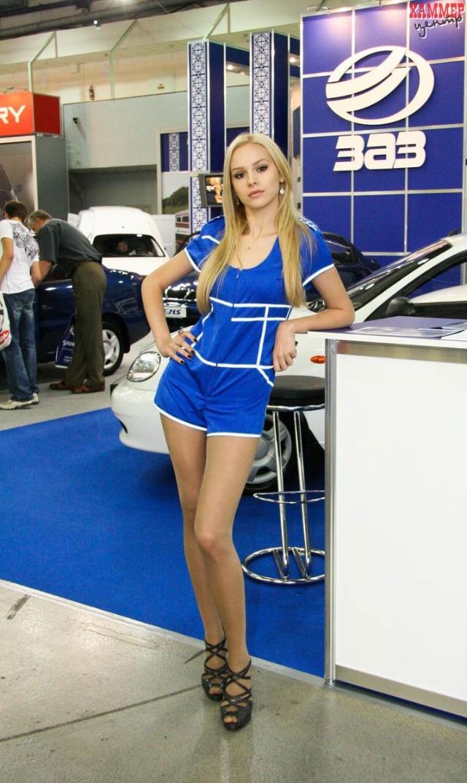 乌克兰车媒:2010基辅车展最佳美女评选