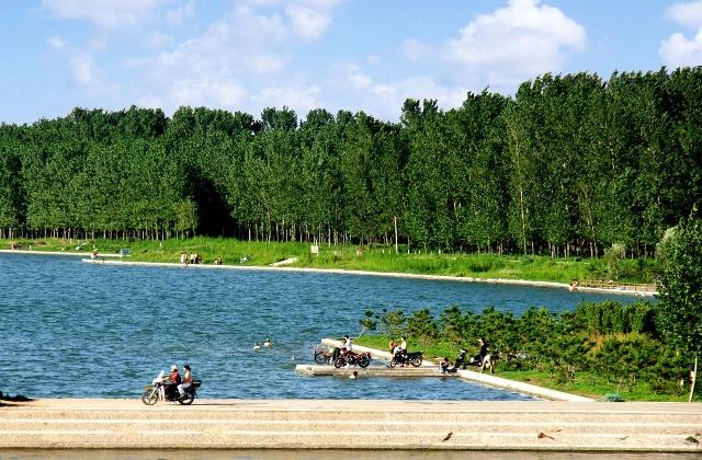 山东省青岛市栈桥景观