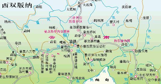 云南旅游景点地图_云南旅游必去景点